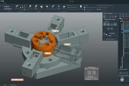 CAD-Viewer und -konverter von 3D-Tool mit erweiterten Bemaßungsfunktionen und Unterstützung weiterer 3D-Formate