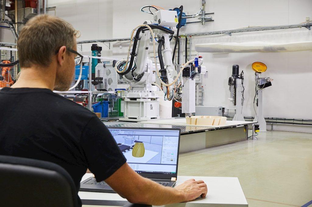 Roboter für den 3D-Druck programmieren