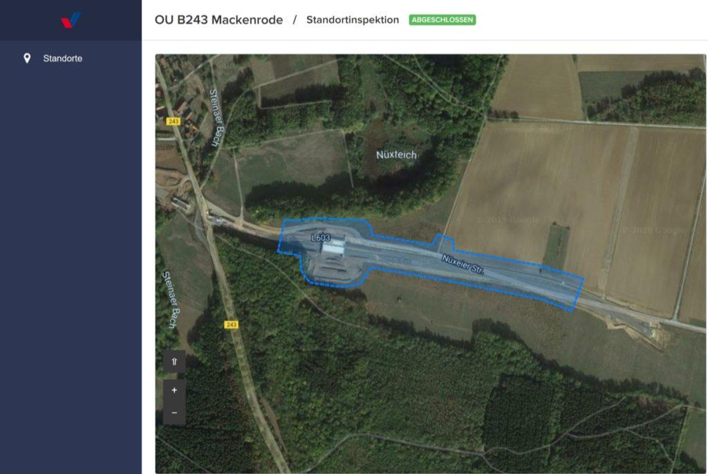 Drohnen auf dem Bau