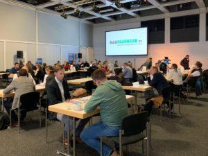 Influencer: Baufluencer Forum an der Bautec 2020.