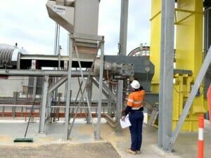 Schwerlast-Getriebe für Getreidetransport