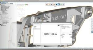 3D-Druck-Bauteile automatisch beschriften