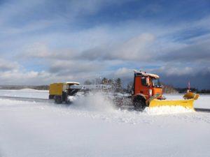 Schneeräumung: Fahrerlos in Immendingen