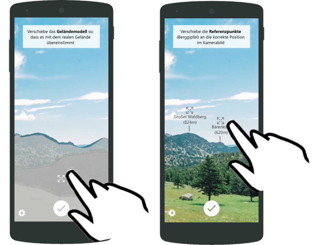 mobile Augmented Reality: Designstudien für Windenergieanlage