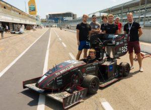 Gleitlager für die Formula Student.