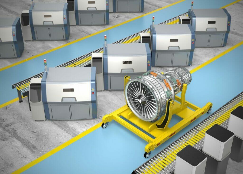ISO/ASTM 52920: Norm für addtitive Produktionsstätten. TÜV SÜD bietet Zertifizierungen an.