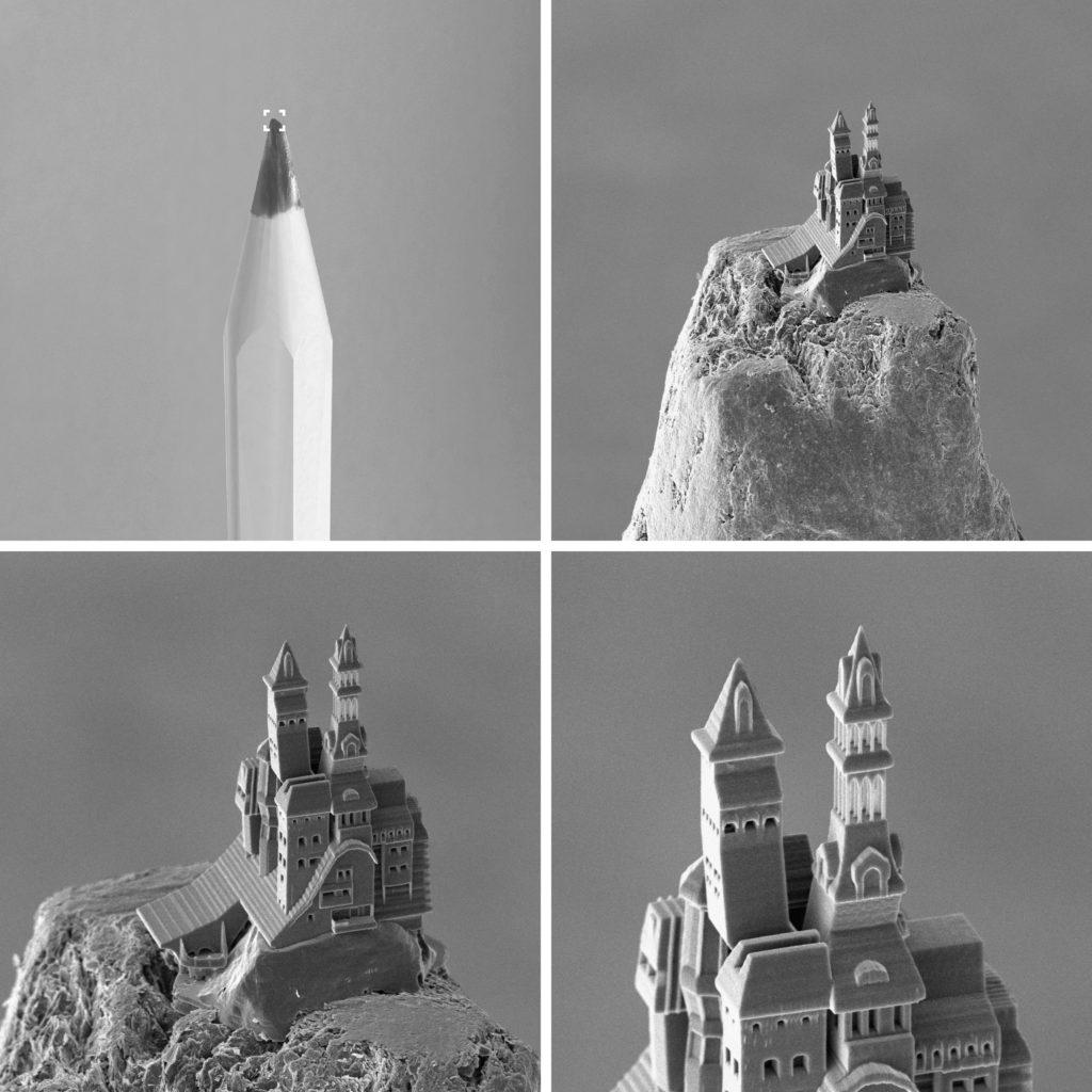 Mikrobauteile im 3D-Druck fertigen.