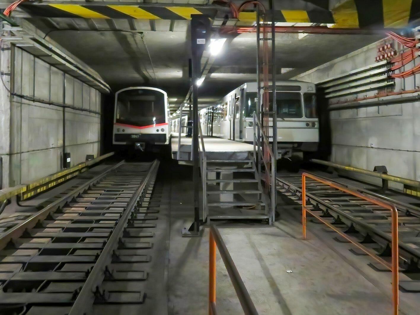 Masse-Feder-System dämpft Schwingungen von U-Bahn