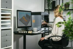 Verbundwerkstoffe: 3D-Druck im Büro