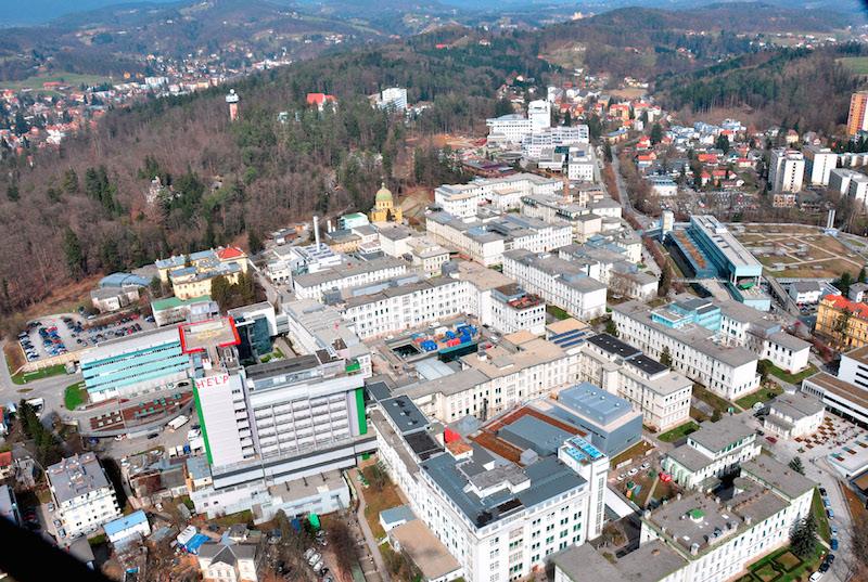 Krankenhaus Graz.