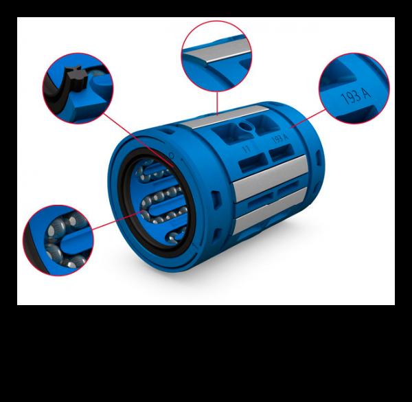 Das optimierte Käfigdesign sorgt für hohe Laufruhe bei geringer Reibung und reduzierter Geräuschentwicklung.