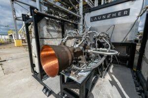 Raketentriebwerk mit 3D-Druck hergestellt