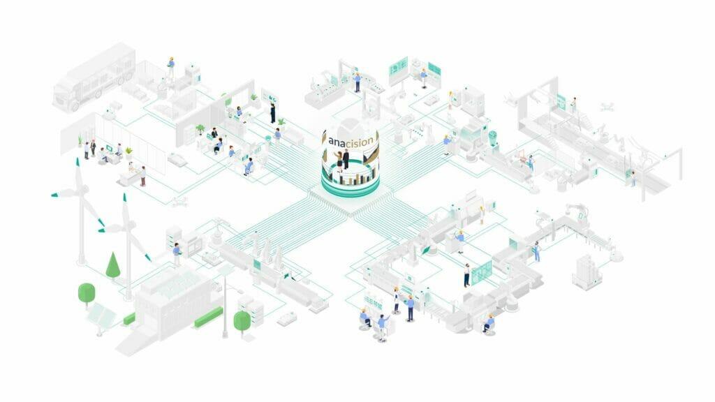 Fabrik der Zukunft: KI-Softwarebausteine von Anacision