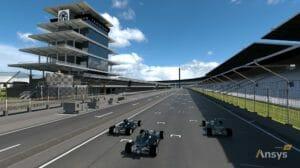 Indy Autonomous Challenge: Simulationslösungen und KI von Ansys