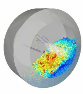 Diskrete-Elemente-Modellierung: Ansys und ESSS beschleunigen Workflow bei der Überziehung von Tabletten