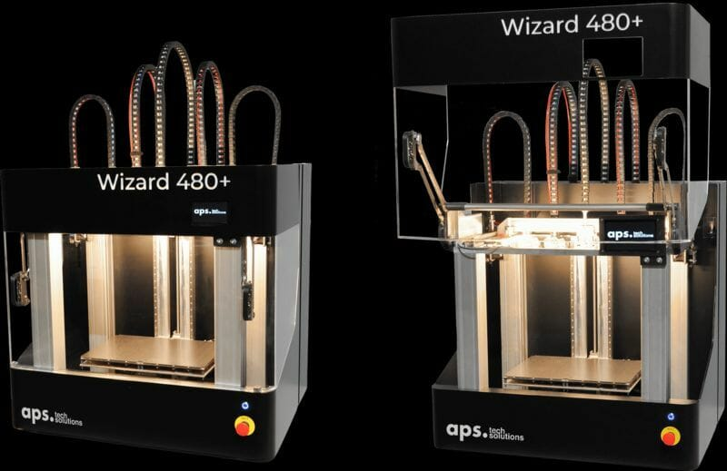 Endloscarbonfaser und Hochleistungspolymere in Einem: der Wizard 480+ von aps techsolutions