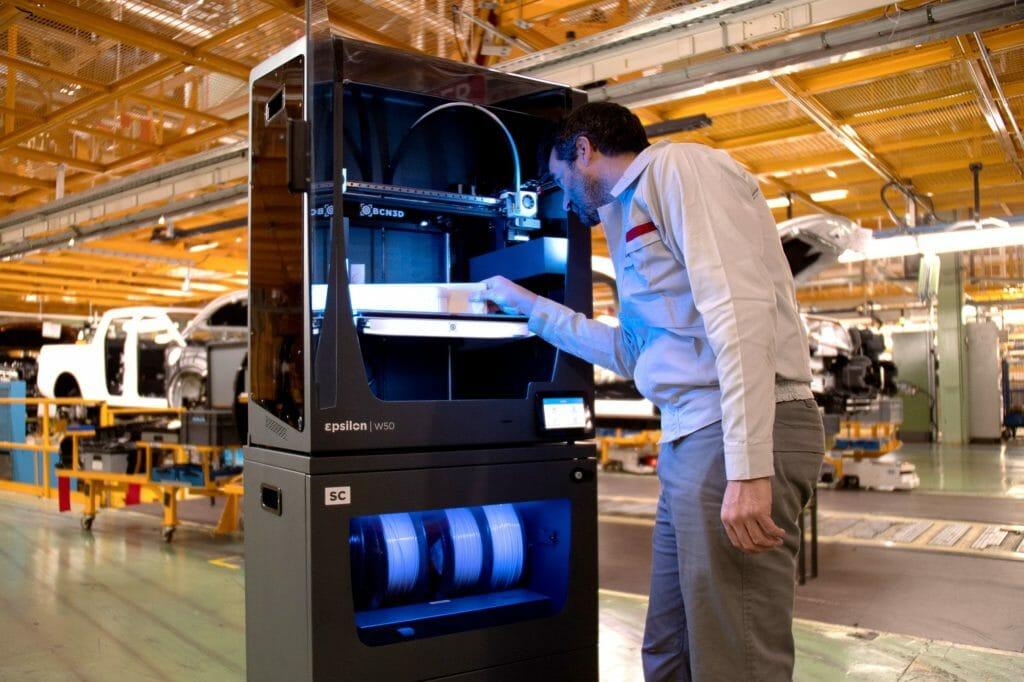 Nissan setzt in Spanien auf 3D-Drucklösungen von BCN3D