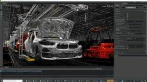 virtuelle Fabrikplanung bei BMW mit der Omniverse-Plattform von Nvidia