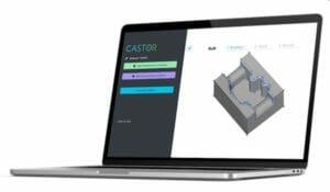 Produkt-Design mit genauer Analyse additiver Fertigungsmöglichkeiten mit der Software Castor Enterprise