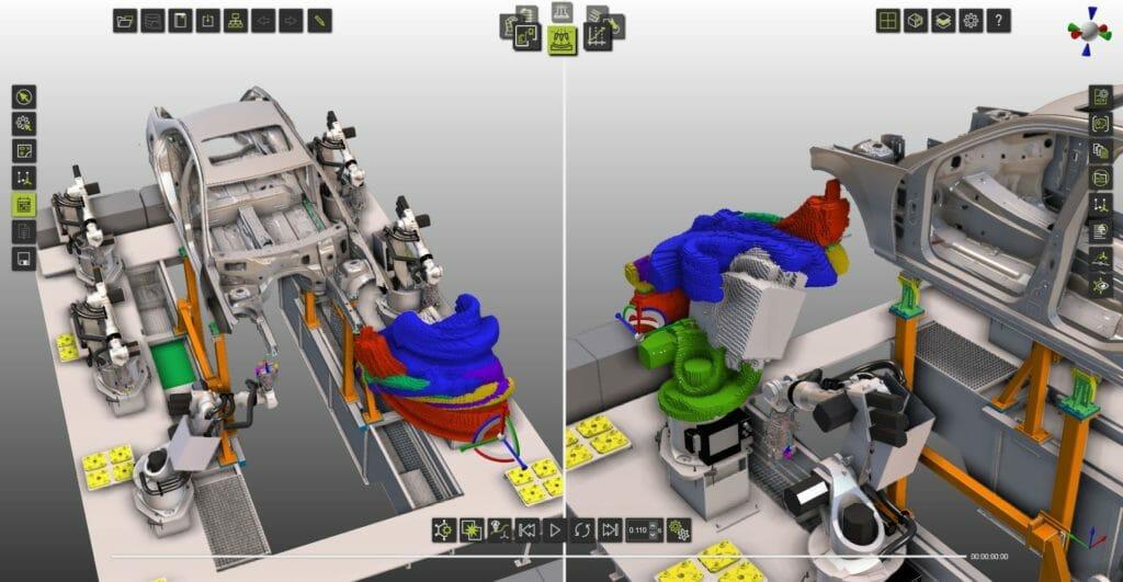 3D-Simulationsplattform