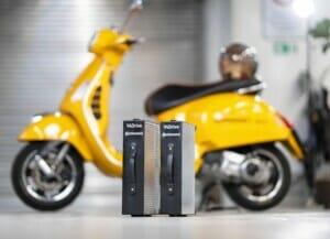 Elektro-Zweiräder mit neuartigem Akku