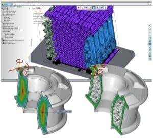 Bauteil-Nesting mit künstlicher Intelligenz im 3D-Druck