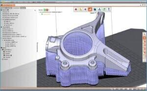 3D-Druck-Software schreibt STEP-Daten