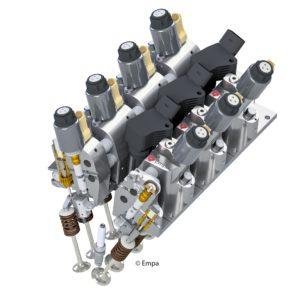 Ventiltrieb Elektrohydraulik
