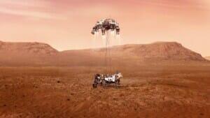 Planetenrollengewindetrieb im Einsatz auf dem Mars