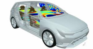 Akustikdesign für Autos: FFT und Autoneum entwickeln gemeinsame Lösung für die Akustiksimulation