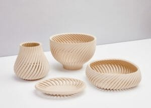 Holzabfälle mit 3D-Druck recyceln