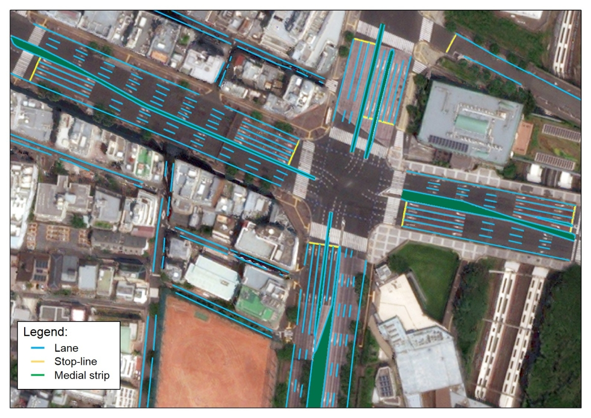 Hochauflösende Karten aus dem Weltraum für autonomes Fahren