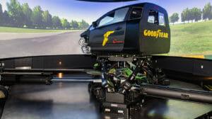 Fahrsimulator für beschleunigte Reifenentwicklung bei Goodyear