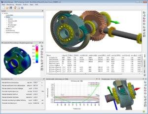 Systemberechnung mit neuen Funktionen für Stirnradgetriebe und Planetenstufen