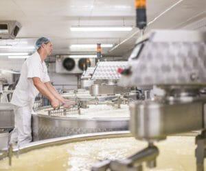 Wägezelle für Käsespezialist Fruitières Chabert