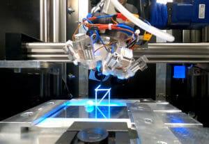 Antriebstechnik mit Linearachsen für weltraumtauglichen 3D-Drucker