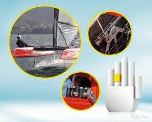 Gleitlager für fliegenden Katamaran: Schmiermittelfrei und korrosionsbeständig