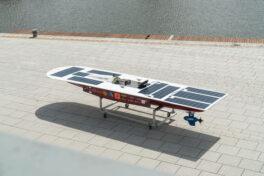 Polymergleitlager für solarbetriebenes Rennboot