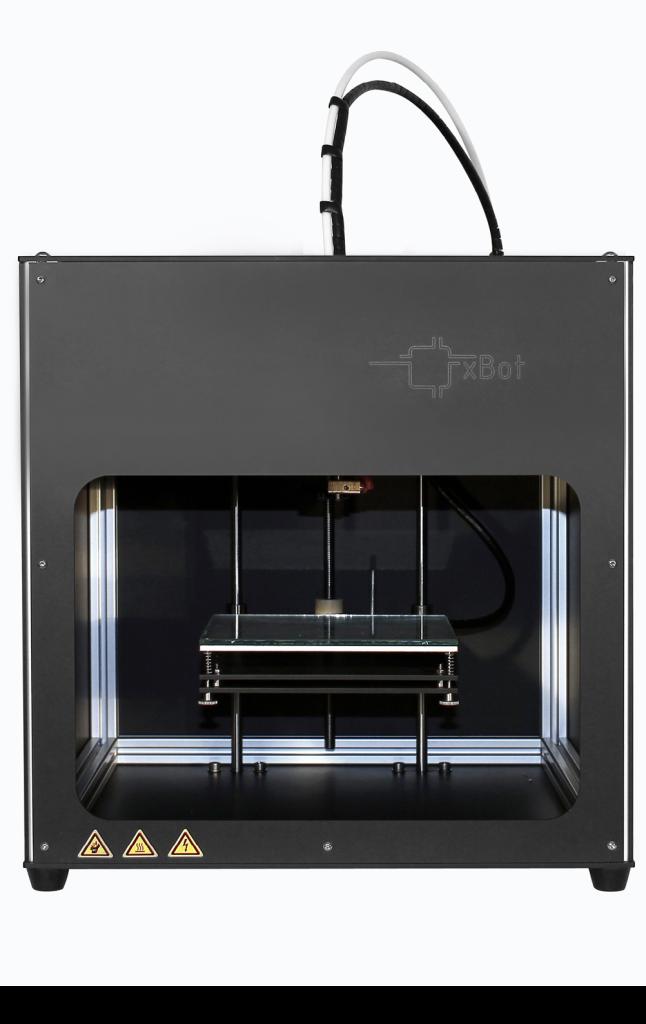 Der xBot von Reprap Austria erzeugt im 3D-Druck Kunststoffbauteile.