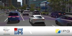 Simulationssoftware für die Entwicklung automatisierter Fahrzeuge