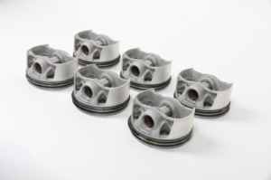 Kolben im 3D-Druck gefertigt