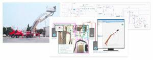 Virtuelle Inbetriebnahme: So integriert XCMG die Steuerungseinheit für eine Hubarbeitsbühne frühzeitig im Entwicklungsprozess.