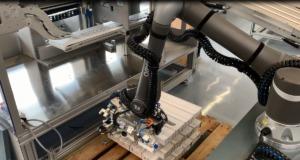 Cobot von Omron im Einsatz bei Kraus Maschinenbau