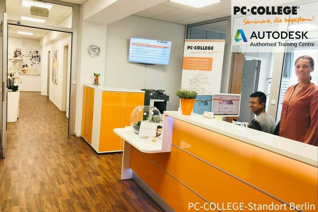 PC-College Empfangsbereich Berlin