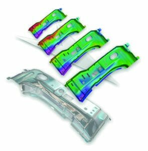 Blechbearbeitung mit neuer Version der Software von AutoForm