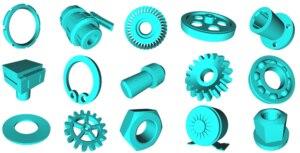 Open-Source-Datenbank für maschinelles Lernen mit mechanischen 3D-Komponenten
