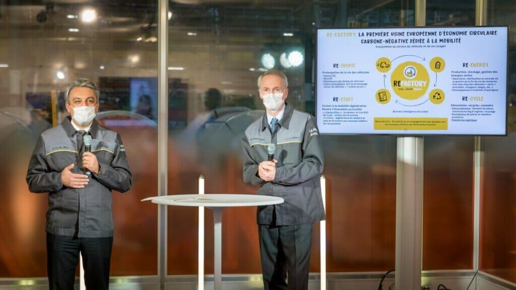 Kreislaufwirtschaft: Re-Factory von Renault