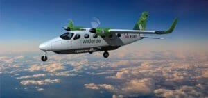 Elektrische Flugzeug für Pendler