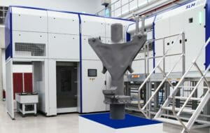 Selective Laser Melting für Bauteil eines Bugfahrwerks: Kooperation von SLM Solutions und Safran