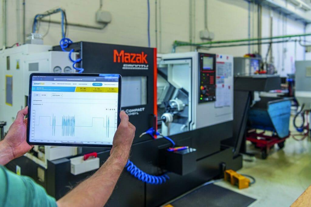 CNC-Maschinen optimal und dynamisch auslasten